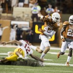 Longhorns Survive Shootout with Cyclones, Win 48-45